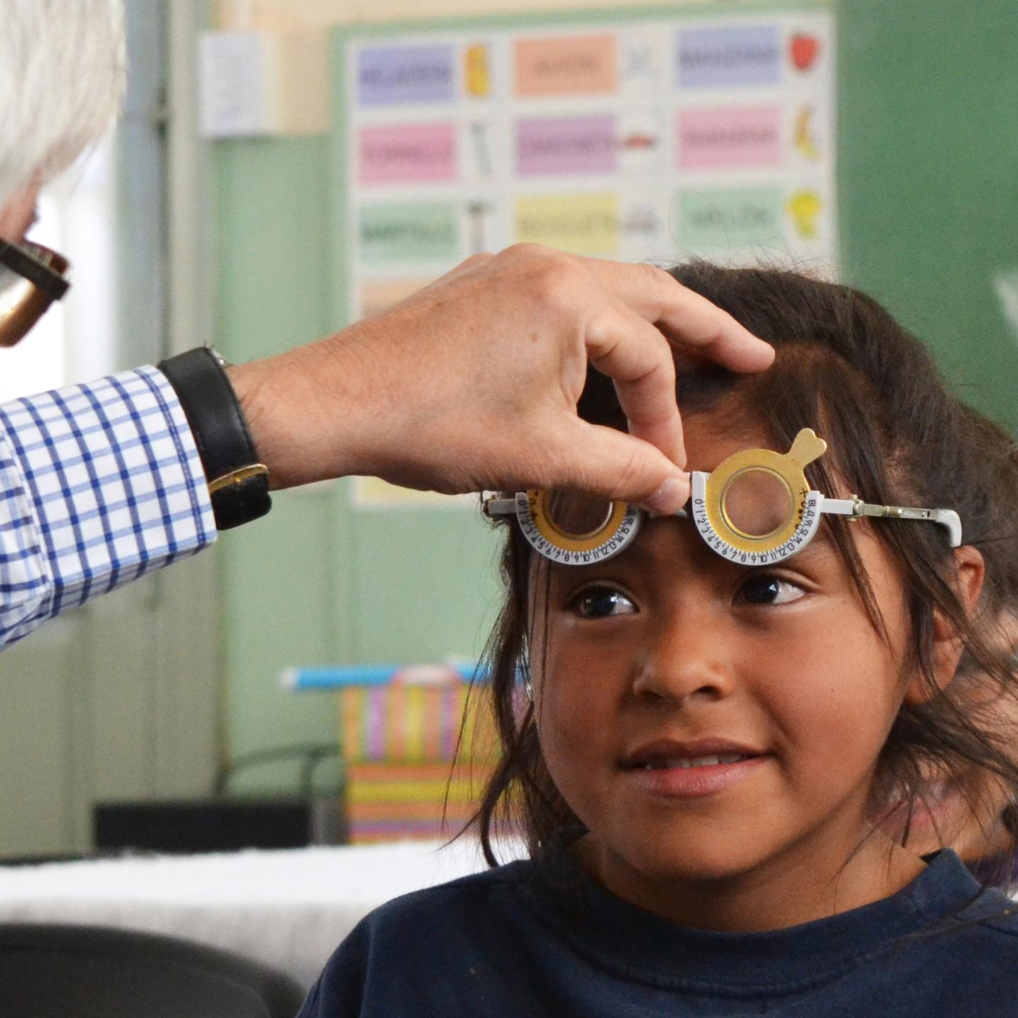 Salud visual para los que menos tienen